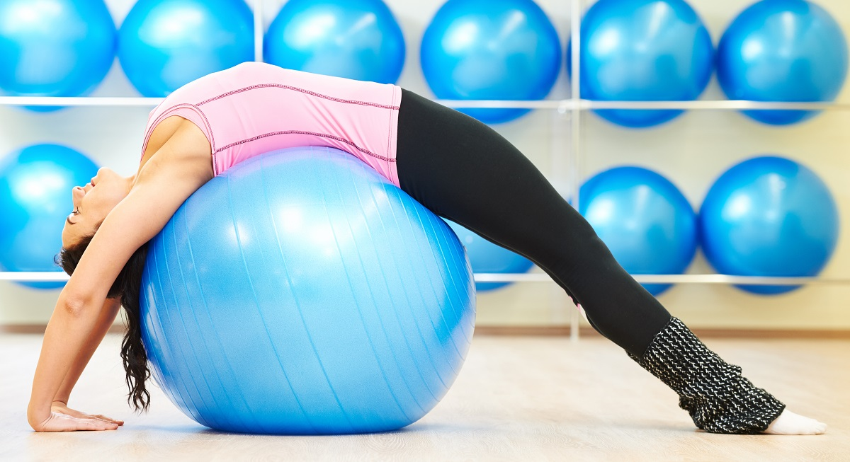 Fitball Pilates suelo