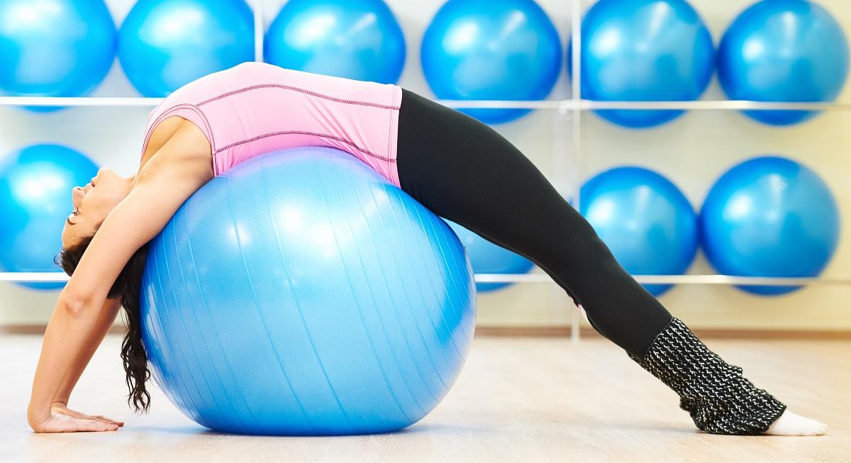 Fitball Pilates suelo