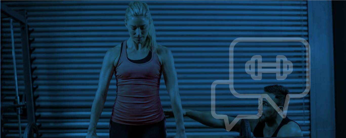 sala fitness y entrenamiento personal